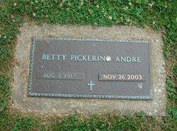 Betty <i>Pickering</i> Andre