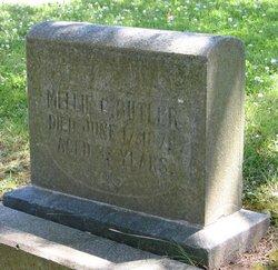 Melvina Catherine Mellie <i>Morris</i> Butler