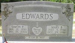 Mary B Edwards