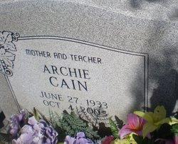 Arminta Archie <i>Berry</i> Cain