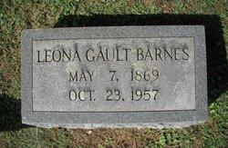 Leona Gault Barnes