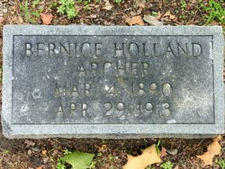 Bernice Holland Archer