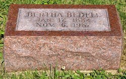 Bertha <i>Naylor</i> Bedell