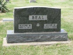 Allie M <i>Spangler</i> Beal
