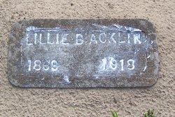 Lillie B. Acklin