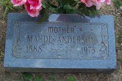 Maude <i>McCollum</i> Anderson