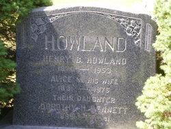 Alice M. Howland