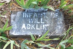 Infant of Will Acklin