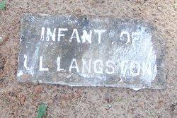 Infant of L.L. Langston