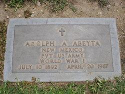 Pvt Adolph A. Abeyta