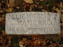 Mary Alice Allie <i>Woolfolk</i> Gambrall