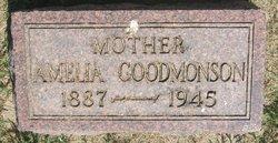 Amelia <i>Pederson</i> Goodmonson