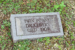 Infant twin daughter
