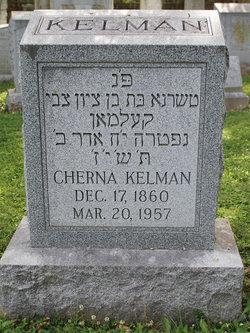Cherna Clara <i>Loewenstein</i> Kelman