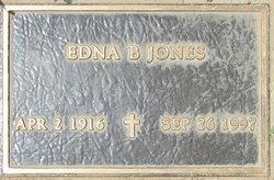 Edna B <i>Butterworth</i> Jones