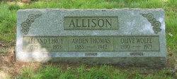Olive <i>Wolfe</i> Allison