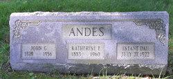 Katherine Elizabeth <i>DeRoss</i> Andes