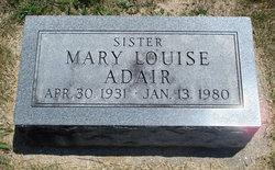 Mary Louise Adair