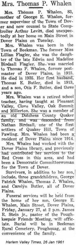 Lillian <i>Flagler</i> Butler-Whalen