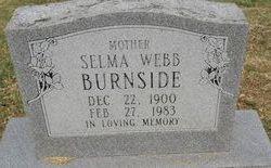 Selma <i>Webb</i> Burnside