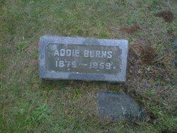 Addie E <i>North</i> Burns