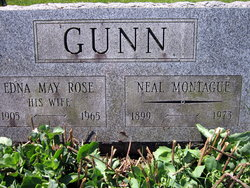 Edna May <i>Rose</i> Gunn