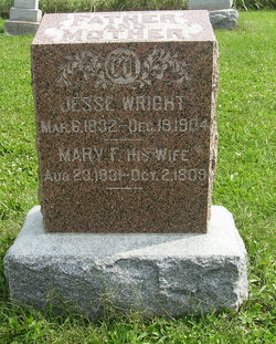 Mary Frances <i>Elder</i> Wright