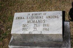 Emma Katherine <i>Anding</i> McManus