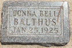 Donna <i>Bell</i> Balthus