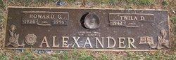 Howard G Alexander