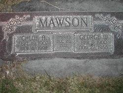 Chloe Alberta <i>Waters</i> Mawson