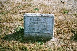 Helen D <i>Steele</i> Champeau