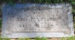 Alma Lorinda <i>Keen</i> Alexander