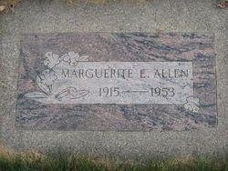 Marguerite Elizabeth Peggy <i>Calhoun</i> Allen