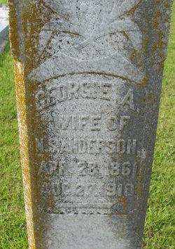 Georgie A. <i>Warren</i> Anderson