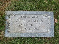 Viola Marian <i>Moxley</i> Allen