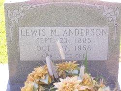 Lewis M Anderson