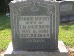Fanny <i>Murry</i> Anderson