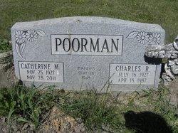 Catherine Marie Katie <i>Hickey</i> Poorman