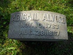 Abigail <i>Clark</i> Alvord