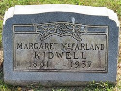 Margaret <i>McFarland</i> Kidwell