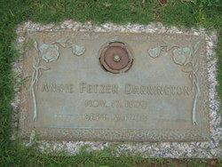 Annie <i>Fetzer</i> Darrington