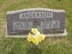 Virgil W Anderson