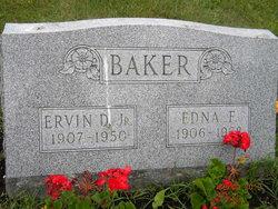 Edna M. <i>Fortner</i> Baker