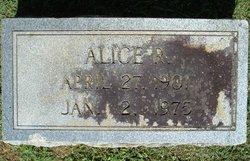 Alice <i>Rich</i> Adams