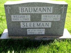 William F Baumann
