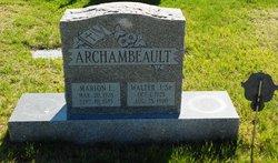 Walter J Archambeault, Sr