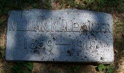 William M Alexander