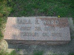 Sara Elizabeth <i>Allison</i> Ward
