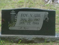 Foy V. Lee